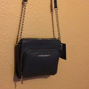 Steve Madden Black Purse New with tag